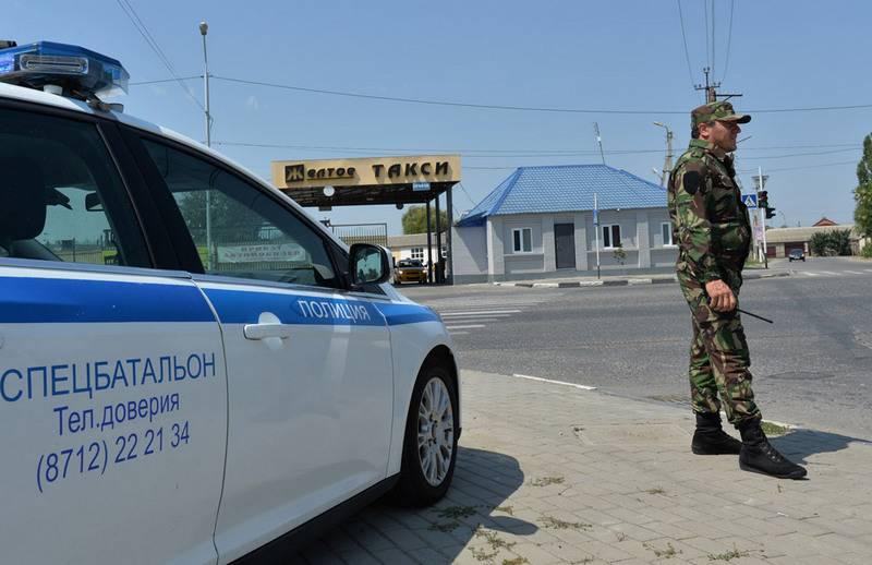В Грозном смертница попыталась подорвать КПП