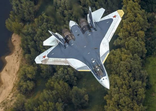 """Фото Су-57 с восемью """"боевыми"""" звёздами вызвало дискуссию в сети"""