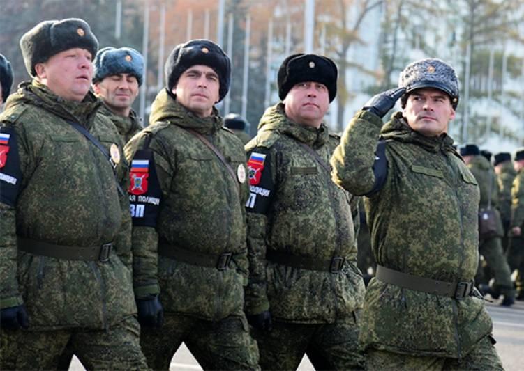 Подразделения военной полиции появятся в каждой дивизии