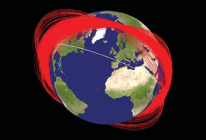 उपग्रह कैसे शूट करते हैं?