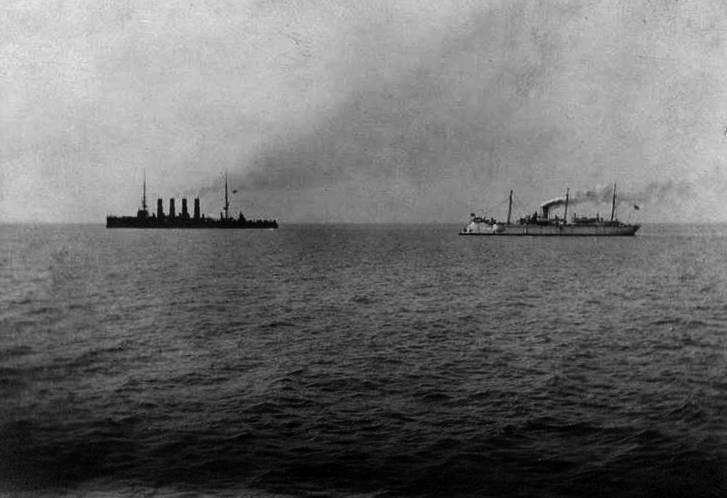 """Kruvazör """"Varangian"""". Chemulpo'da dövüş 27 Ocak 1904 yılı. H. 21. Sonuç"""