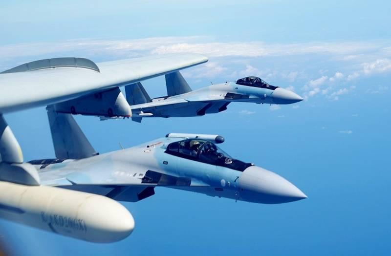 Россия закончила поставку Су-35 для ВВС Китая