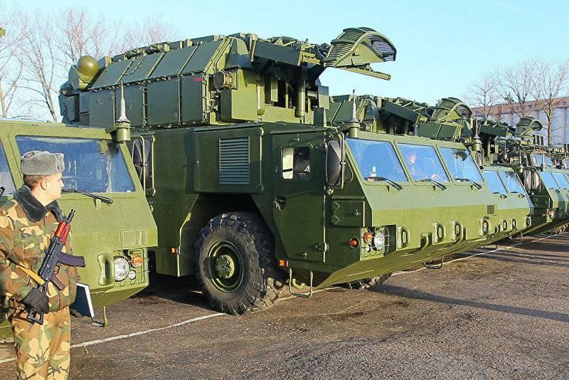"""Белорусские зенитчики получили пятую партию ЗРК """"Тор-М2"""""""