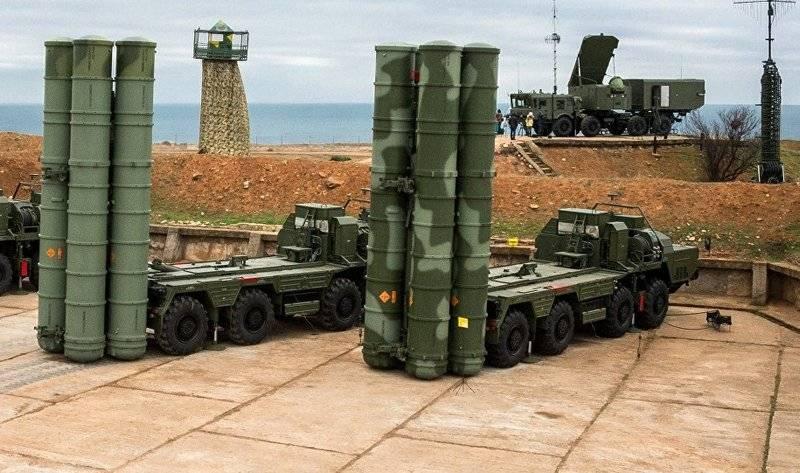 Четвёртый дивизион ЗРС С-400 заступил на боевое дежурство в Джанкое