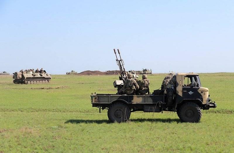 Очередные учения ВСУ прошли на побережье Азовского моря