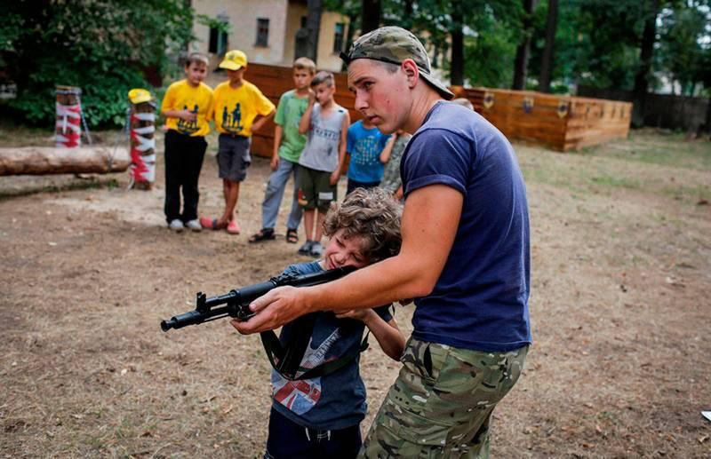 ОБСЕ не будет расследовать факты о детских радикальных лагерях на Украине