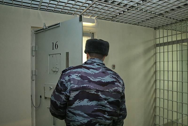 Украинских моряков поместили в карантин в СИЗО Москвы