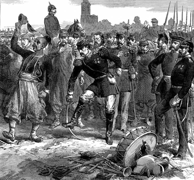 Как 200 - тысячная французская армия сдалась пруссакам