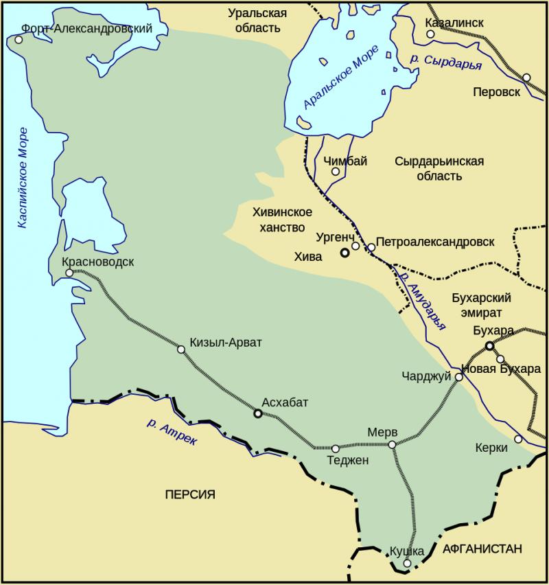 Как британцы замахнулись на Прикаспийский регион и Туркестан