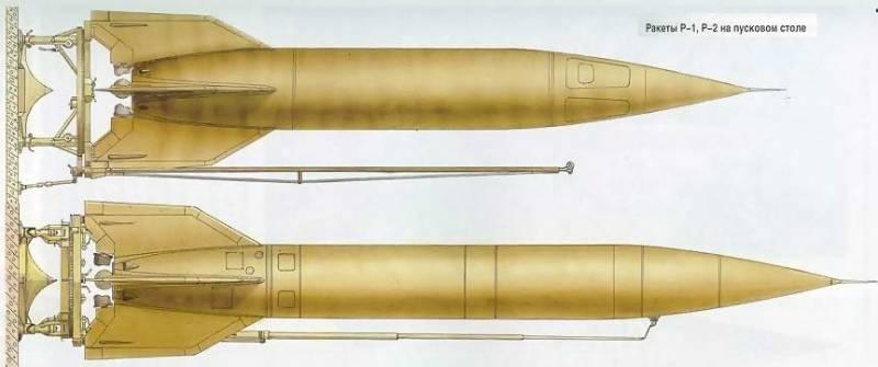 Советская баллистическая ракета дальнего действия Р-1 «Победа»