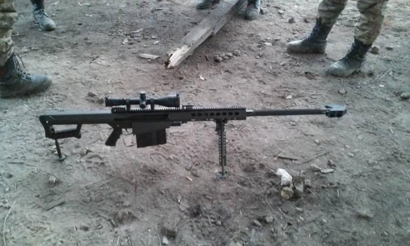 Какими винтовками вооружены снайперы на Донбассе