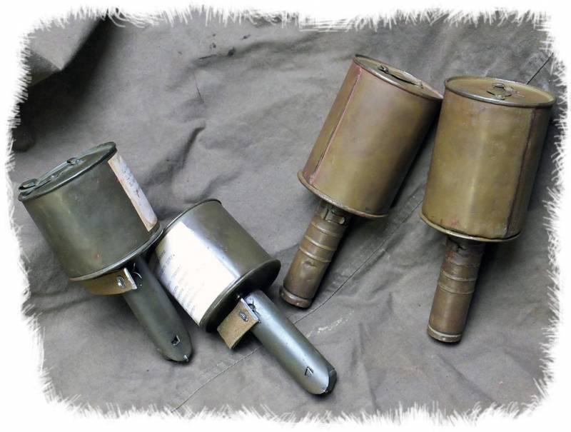 История ручных противотанковых гранат РПГ