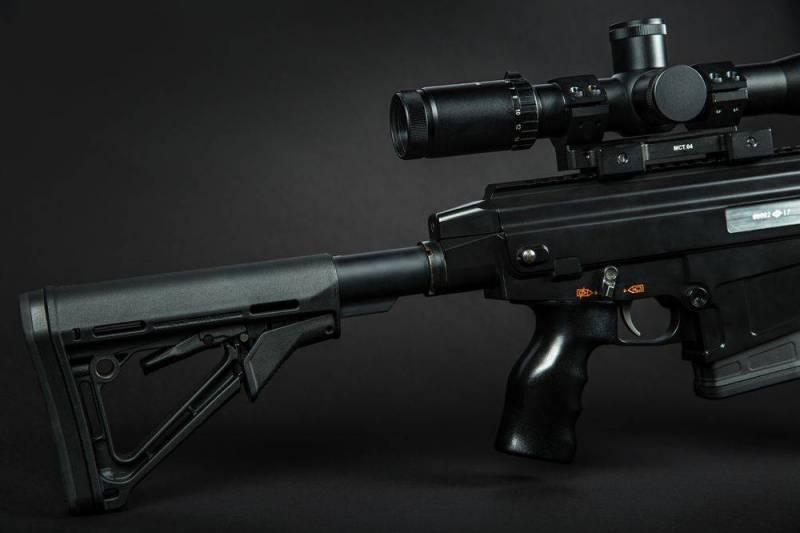 В Москве на оружейной выставке представлен Карабин ORSIS-K15 «Брат»