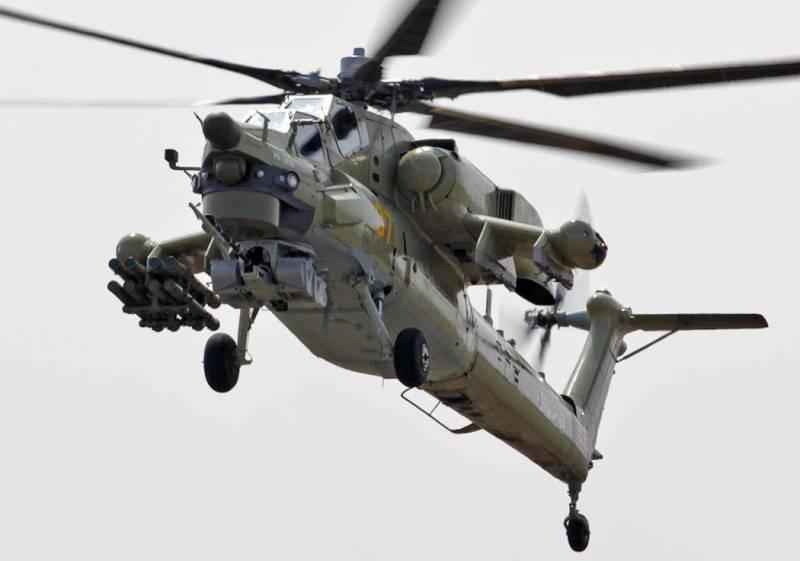 Российские вертолёты доработаны с учётом сирийского опыта