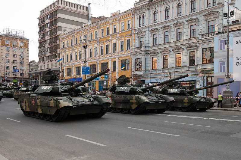 В Украине всё больше зависимость от импортного вооружения
