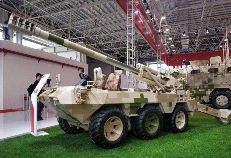 Семейство машин NORINCO Lynx CS/VP16B 6x6. САУ и РСЗО на лёгком шасси