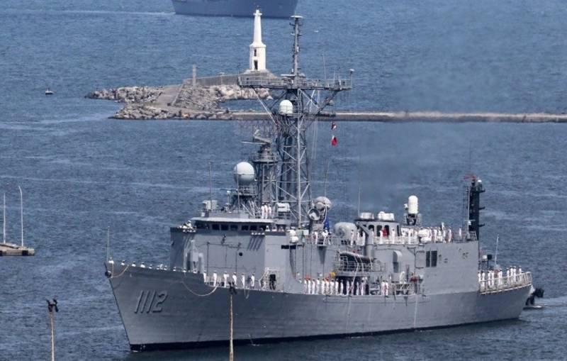 ВМС Тайваня пополнились двумя американскими фрегатами