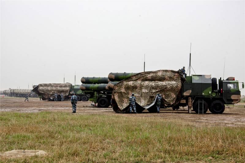 Обзор китайского ЗРК HQ-9 и российского C-300?