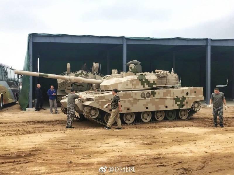 Рестайлинг китайского лёгкого танка VT5