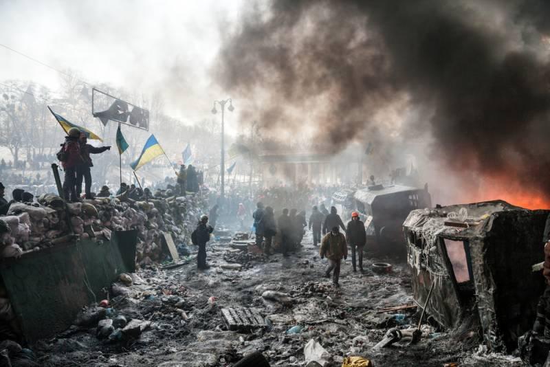 """На Украине назвали """"плюсы"""" майдана: Не превратились во вторую Беларусь"""