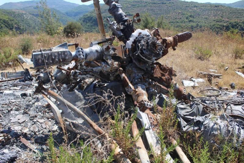 Видеоматериал с места гибели лётчика Пешкова опубликованный СК РФ