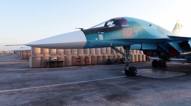 Боевое применение Су-34 в Грузии и Сирии