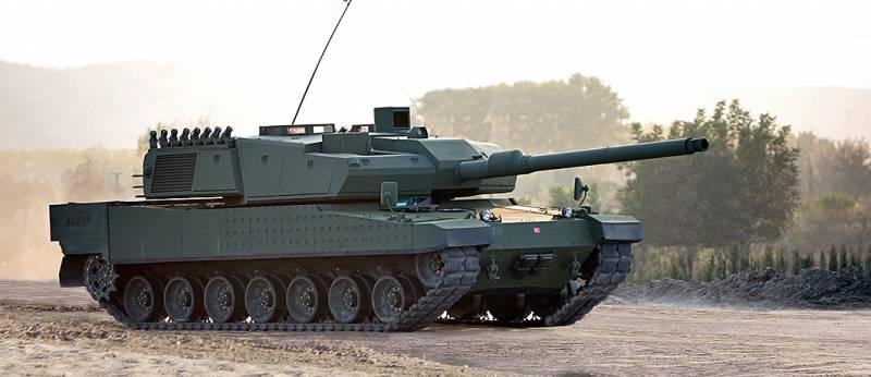 Турецкий танк Altay идёт в серию