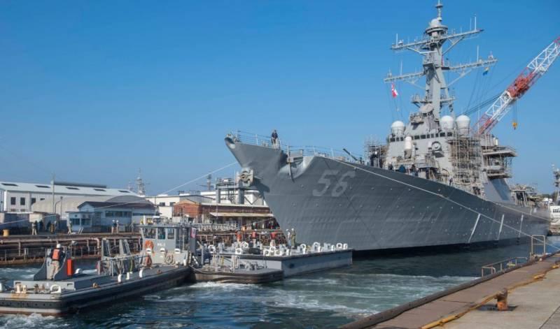 Эсминец «Джон С. Маккейн» спущен на воду