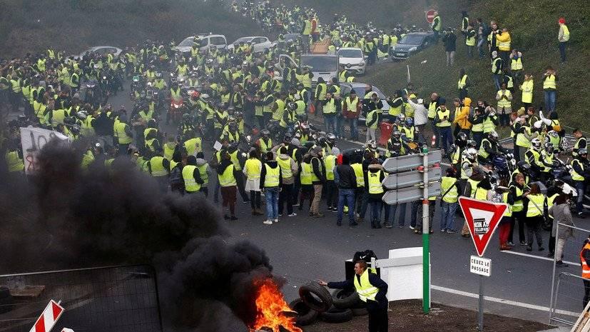 Протесты иклиматическое соглашение— Трамп увидел связь