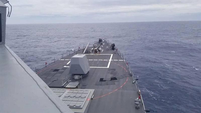 США направили эсминец с