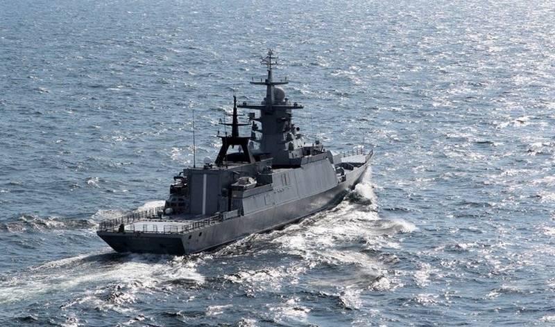 """Proyecto de corbeta 20380 """"Loud"""" """"funcionó"""" en busca de un submarino en el Mar de Japón"""