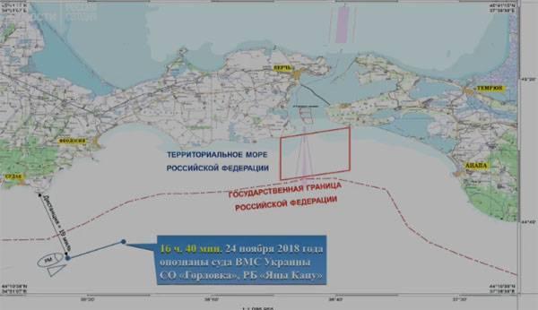 Брифинг ПС ФСБ о нарушении катерами ВМСУ морских границ России