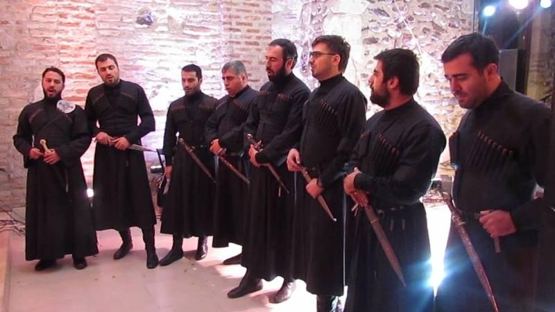 Geórgia aplicou árias de ópera contra guardas de fronteira russos
