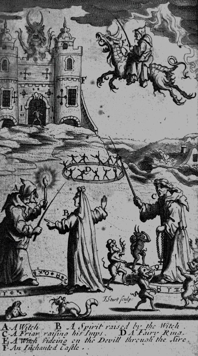 «Где много женщин, там много ведьм». Генрих Крамер, иллюстрация к «Молоту ведьм», 1486 г.