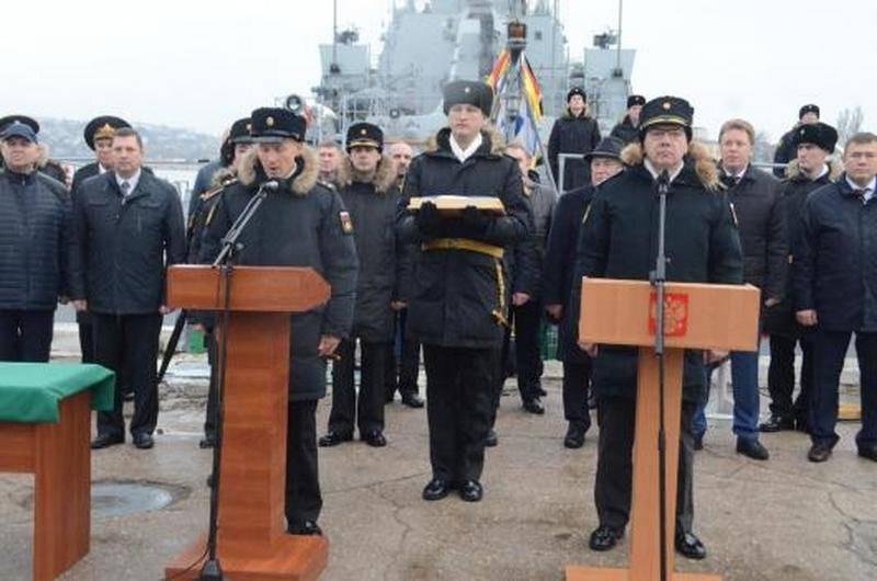 """검은 바다 함대에 추가 된 소형 로켓 함 """"Orekhovo-Zuyevo"""""""