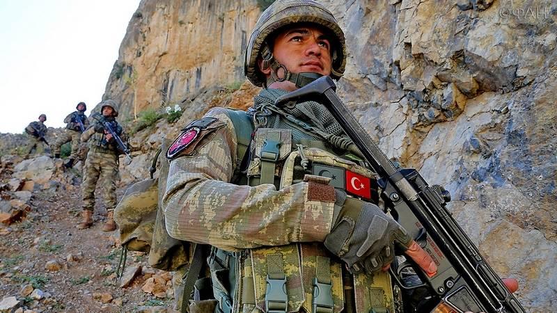 Эрдоган: Турецкая армия начинает новую военную операцию на севере Сирии