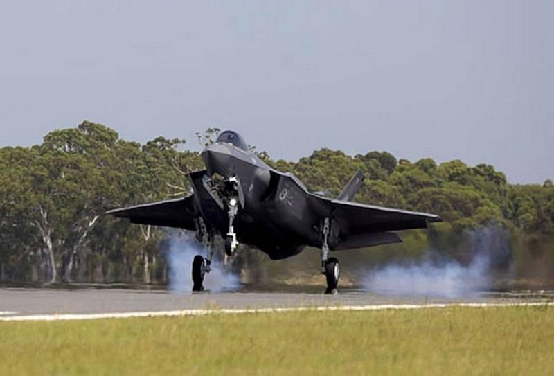 В Австралию прибыли два первых строевых истребителя F-35A
