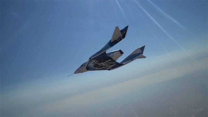 """In den USA testeten sie das Raumschiff VSS Unity und wollten die """"Grenze des Weltraums"""" senken"""