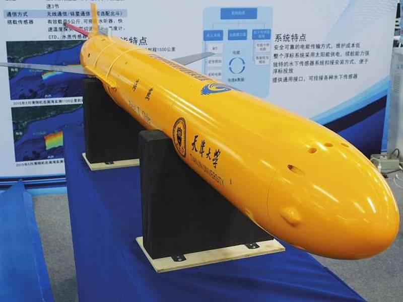 Автономные морские системы на страже интересов Китая