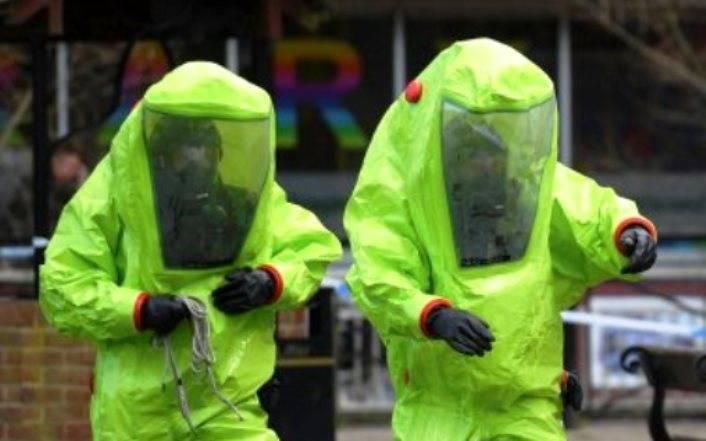 Британские полицейские рассказали об обнаружении отравленных Скрипалей
