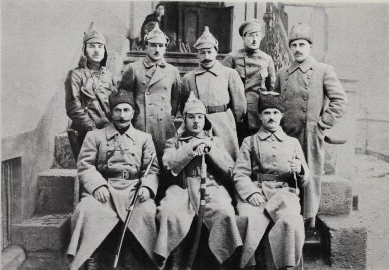 Donbass की लड़ाई 100 साल पहले। 2 का हिस्सा