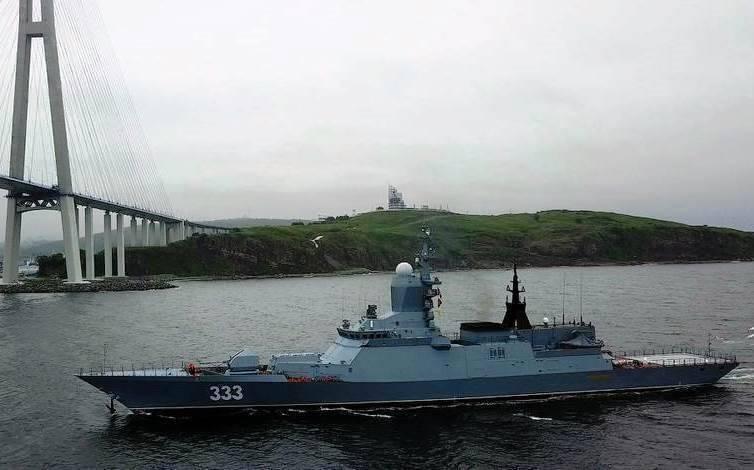 Во Владивостоке завершаются испытания корвета «Громкий»