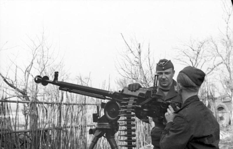 Немецкие малокалиберные зенитные установки против советской авиации (часть 3)