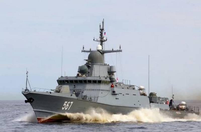 "IRCプロジェクト22800 ""Mytishchi""はバルト海艦隊の一部となりました"