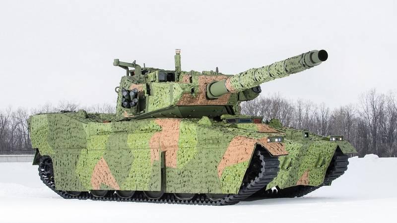 Dans le programme de création d'un char léger pour l'armée américaine, les finalistes étaient déterminés