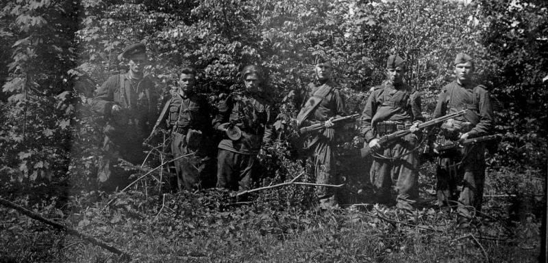 Украинские бандеровцы на службе у нацистов