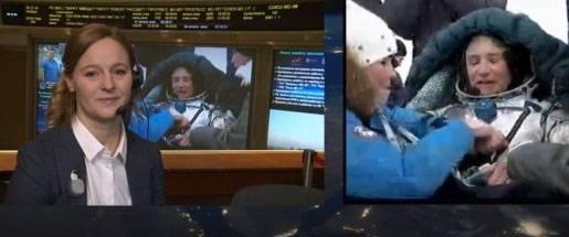宇宙飛行士はシーラントのサンプルと連合MC-09の保護を地球にもたらしました