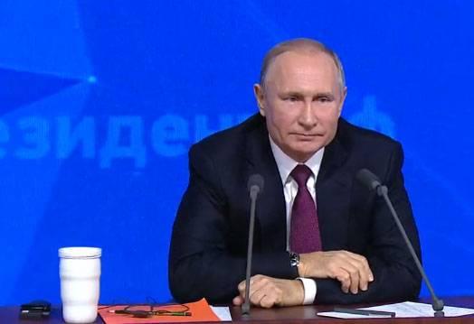 El presidente comentó los informes sobre el inicio de la retirada de las tropas estadounidenses de Siria.
