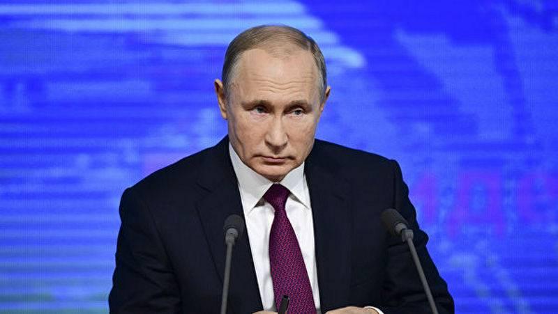プーチン大統領:世界本部はモスクワにはない