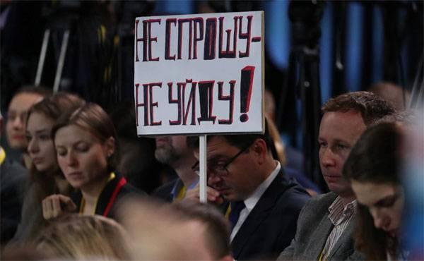 この時間に:何をウラジミールプーチンに尋ねませんでした
